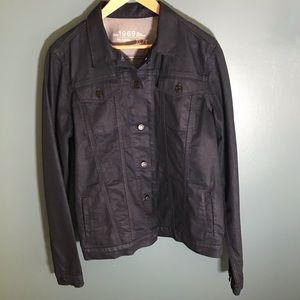 Gap dark blue denim jean jacket XLT XL tall